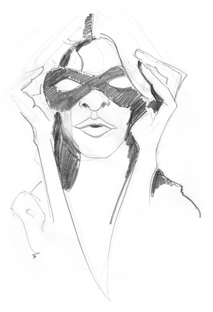 mask-morning-fashion-sketch. Tagged as: Fashion Illustration