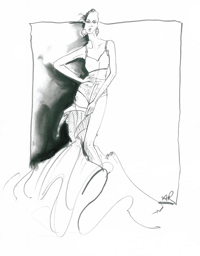 fashion illustration | Tumblr
