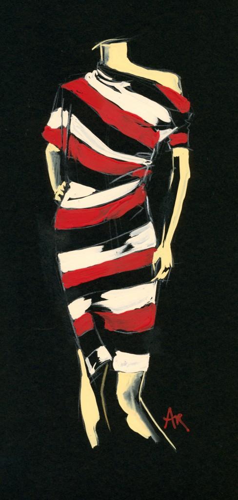 Westwood Anglomania dress