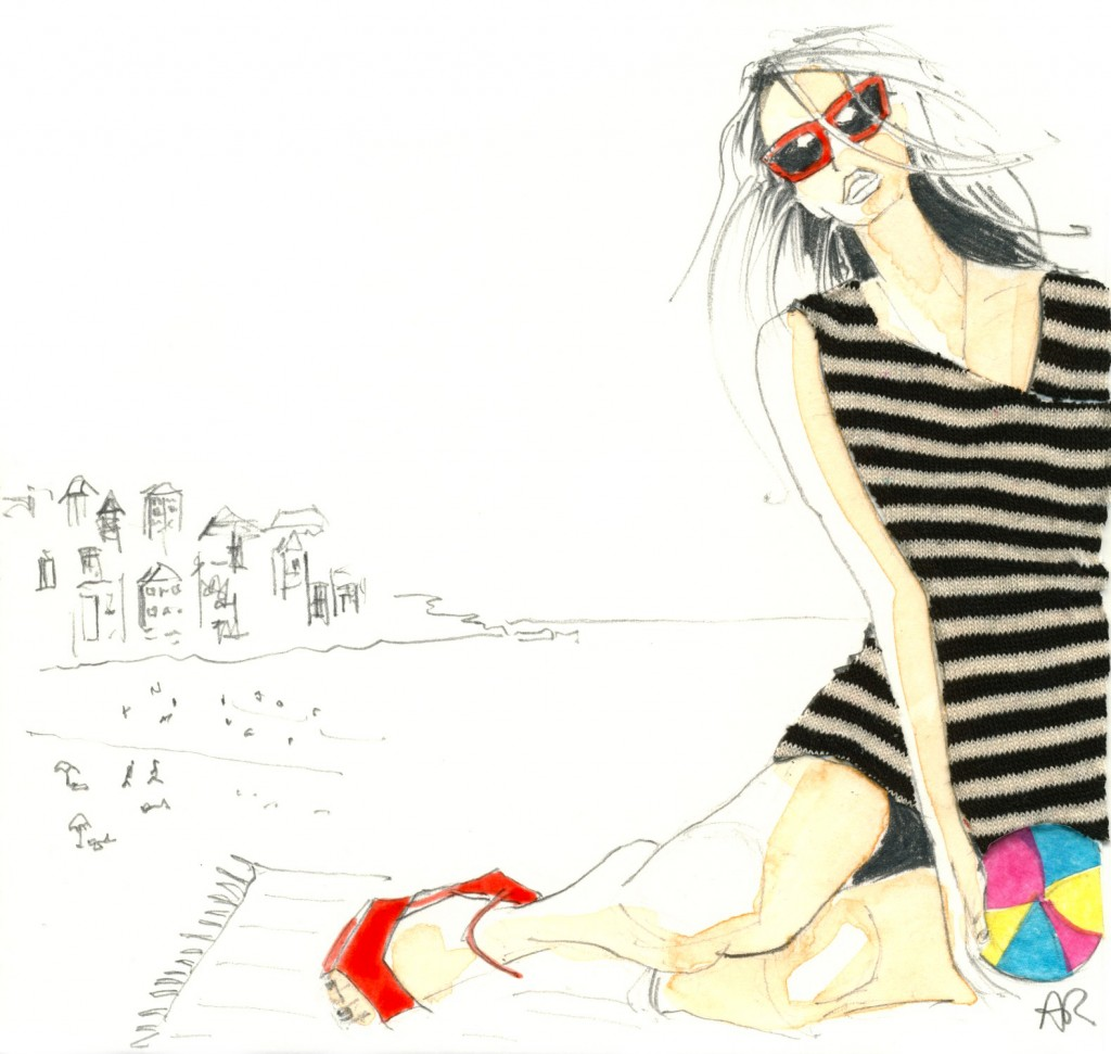 Bondi Patsyfox fashion illustration
