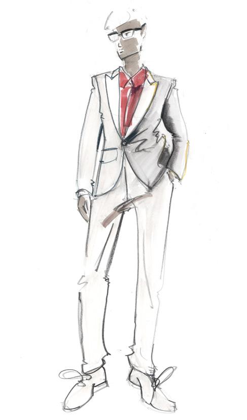 Men fashion illustration - photo#23