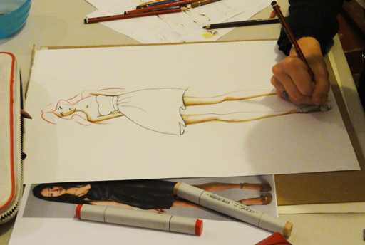 fashion illustration classes draw yourself warm at the drawing salon