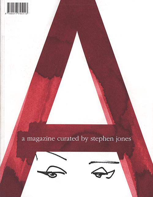 A magazine illustrated cover