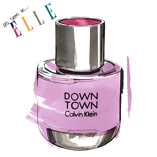 Elle_magazine_perfume_CK_illustration