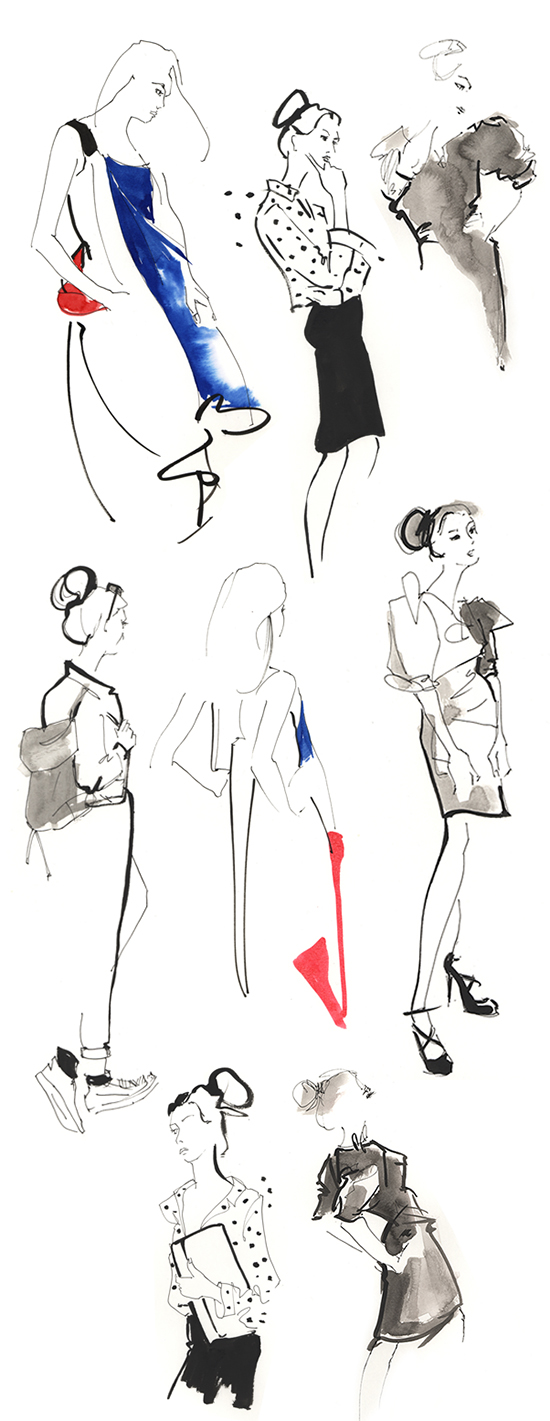 live fashion drawing melbourne
