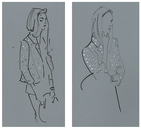 live fashion illustration classes