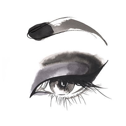 the gallery for gt fashion illustration eyes