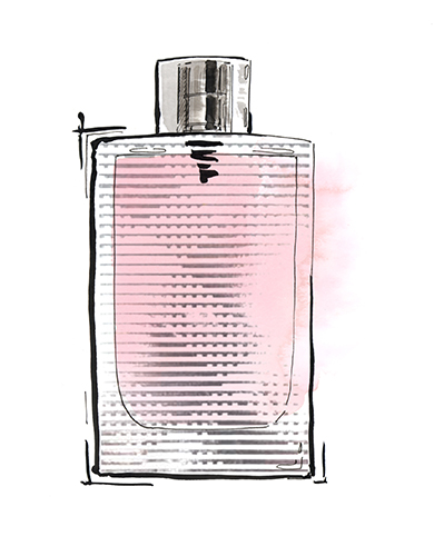 Elle_Burberry_Brit_ForHer_fragrance_illustration