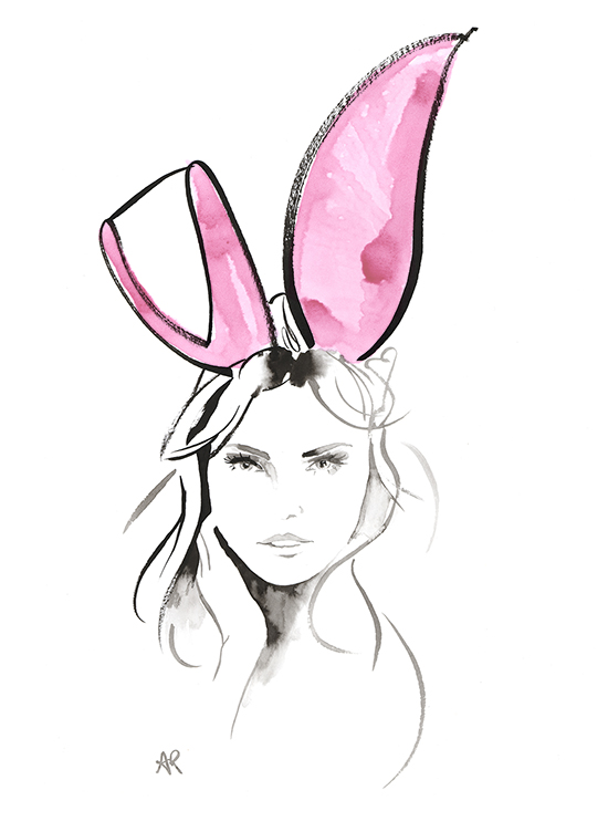 Happy_Easter_Bunny_fashion_illustration