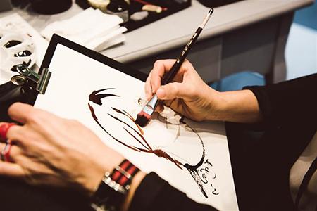 Mimco_fashion_portrait_illustration