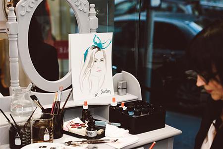 Mimco_live_fashion_portrait_illustration