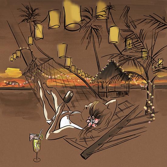 Magnum_Bora_Bora_gouache_paint_illustration