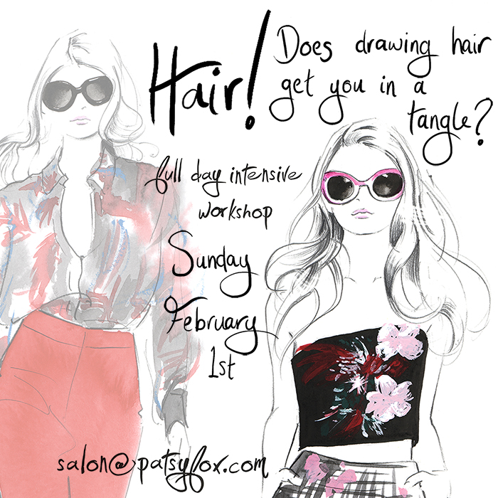 Drawing_hair_fashion_illustration_workshop