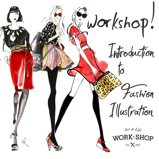 Fashion-illustration-workshop-Melbourne