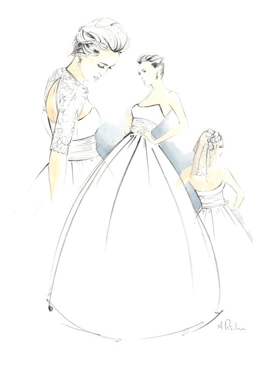 Angie-Rehe-bridal-sketches-wedding-portrait