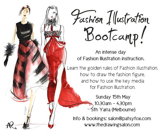 Fashion-Illustration-classes-Melbourne-bootcamp