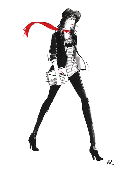 angie-rehe-self-portrait-fashion-illustration