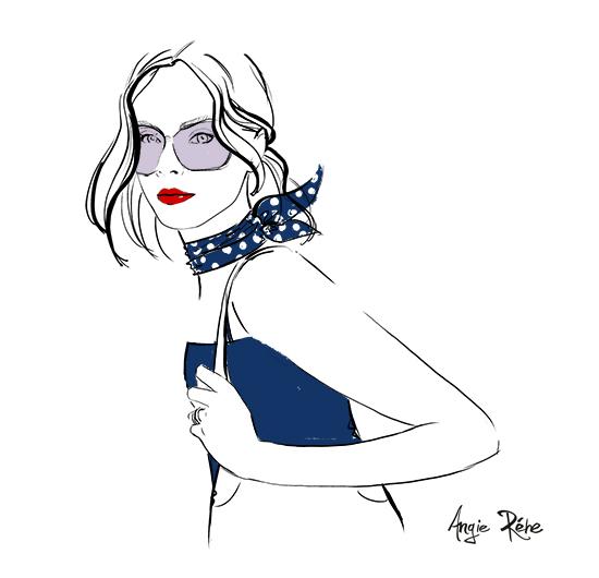 Chic-woman-fashion-illustration-Angie-Rehe