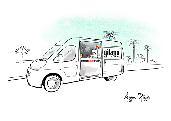 Gilano_Coffee_Van_drawing-Angie-Rehe