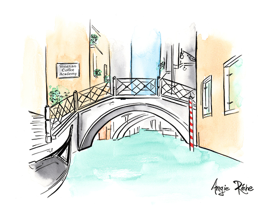 Gilano_coffee_Venice_illustration