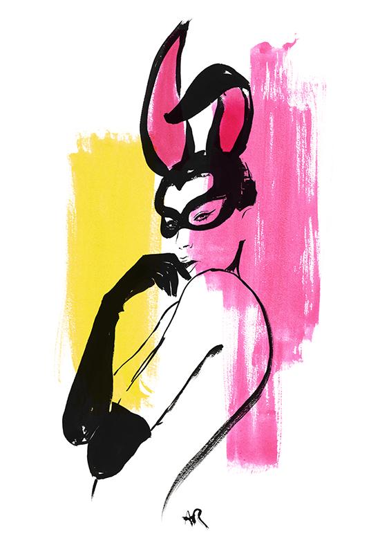 Easter_Bunny-fashion-illustration-Phoebe-Philo