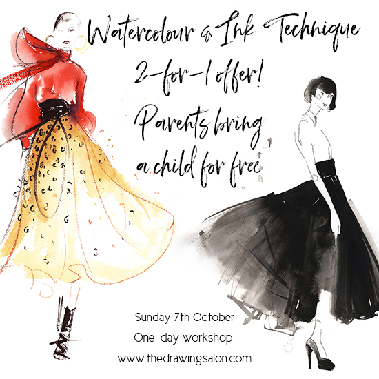 Watercolour-fashion-illustration-workshop-Melbourne