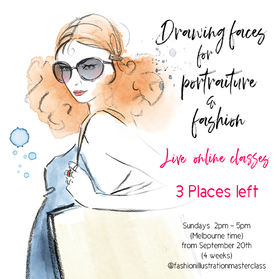 Portraiture-drawing-faces-online-art-classes