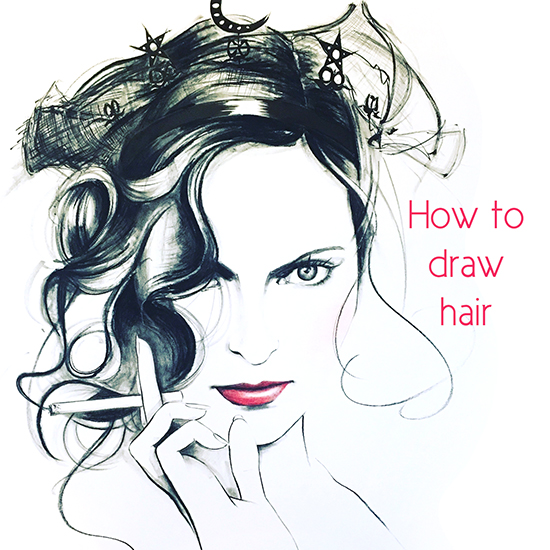 how-to-draw-hair-online-class
